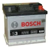 Bosch S3 Silver 45 a/h 002